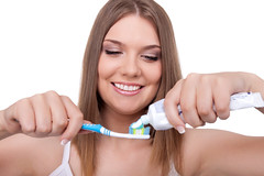 Tips for Dental Hygiene (dr.kamihoss) Tags: hygiene teeth dental toothbrush woman paste tooth smile white health concept morning creativeconcept closeup isolated dentist brushing face healthcare clean healthy treat treatment whiten purity care whitening background beautiful brush female girl happy women medicine young people dentistry plastic lips horizontal dr kami hoss