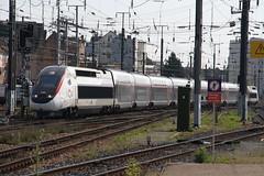 TGV 4704 Strasbourg, France (Paul Emma) Tags: france strasbourg electrictrain train railway railroad tgv 4704