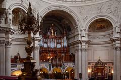Berlin - Orgel im Berliner Dom (Volker Zürn) Tags: bauwerk dom innenaufnahme kirche kirchenschiff musik musikinstrument orgel berlin deutschland