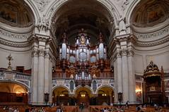 Berlin - Berliner Dom (Volker Zürn) Tags: bauwerk dom innenaufnahme kirche kirchenschiff musik musikinstrument orgel berlin deutschland