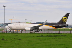 N329UP Boeing 767-34AFER UPS (eigjb) Tags: n329up boeing 76734afer ups dublin airport ireland eidw collinstown international jet transport airliner plane spotting aircraft airplane aeroplane aviation 2019 767 b767 cargo freighter united parcel service