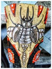 The beetle - [Cuban art] (plismo) Tags: mareadeportillo granma cuba plismo cuban cubanart beetle insect primitiveart art artwork painting