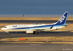 All Nippon Airways 737-800 JA75AN (birrlad) Tags: haneda hnd airport tokyo japan aircraft aviation airplane airplanes airline airliner airways airlines boeing b737 b738 737 737800 sunlight sunset evening 737881 ja75an all nippon ana