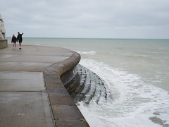 At Broadstairs (Dubris) Tags: england kent thanet broadstairs seaside coast sea