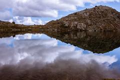 Südtirol (::ErWin) Tags: parcines trentinoaltoadige italien südtirol wasser see spiegelung berge mountains meran