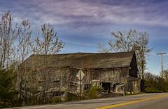 Old Barn (yerica38) Tags: old barn oldbarn disarray decay abandon abandoned maine weathered wood weatheredwood rural