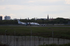 Flybe G-JECR BHD 09/05/19 (ethana23) Tags: planes aviation airplane aeroplane avgeek aircraft flybe bombardier dash8 q400
