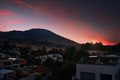 Red ink light (Elkin Vallejo) Tags: sky colors volcano sunset city warm pasto nariño colombia galeras cielo colores volcán atardecer ciudad cálido