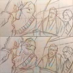 Daily #Art - Day 05-03-19 (hinxlinx) Tags: dailyart illustration pendrawing digitalart portraitart characterart starwars cantina hansolo chewbacca benkenobi obiwankenobi lukeskywalker skywalker hinxlinx ericlynxlin elynx instaart artofinstagram