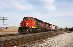 CN 5270 Pewaukee, WI (wisconsinrails) Tags: cn canadiannational duplainville pewaukee wisconsin