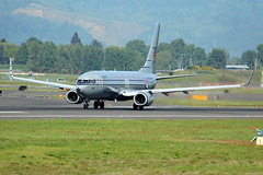 75 Years (planephotoman) Tags: boeing 737 738 737890 n569as starliner75 75thanniversary alaskaairlines airline airliner pdxaircraft portlandinternationalairport pdx kpdx