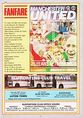Manchester United vs Nottingham Forest - 1983 - Page 17 (The Sky Strikers) Tags: manchester united nottingham forest milk cup road to wembley old trafford review official season programme 30p