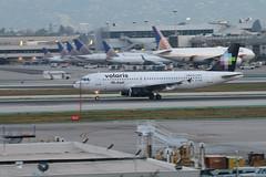 XA-VOM (atucker2976) Tags: triptocaliforniaspringbreakmarch2019 losangelesinternationalairportklaxlax losangelescalifornia airbusa320233 volaris michael