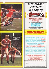 Manchester United vs Nottingham Forest - 1983 - Page 23 (The Sky Strikers) Tags: manchester united nottingham forest milk cup road to wembley old trafford review official season programme 30p
