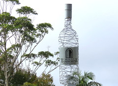 wine (Grenzeloos1) Tags: mounttamborine winery bottle sculpture