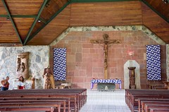 Notre Dame in Nuku Hiva (jjknitis) Tags: 2019 church cruise eurodam hollandamerica island march30 marquesas notredamecathedral nukuhiva polynesia southpacific woodcarving