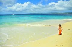 Cayo Levantado (Estrellia Palantzas) Tags: cayo levantado caribbean island dominican republic beach kid toddler catamaran
