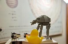 Duck 98 of 365 (don_espe) Tags: 365 365day atat duck ducky lego legos rubberduck rubberducky snowspeeder starwars