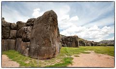 Walls of Sacsayhuaman (Ben-ah) Tags: megalithic sexywoman peru sacsayhuaman cuzco citadel saqsaywaman inca stonewall