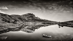Peacefull (petebristo) Tags: oldmanstorr lakes isleofskye skye reflections reflection water landscape scotland highlands