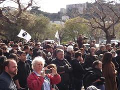 Bastia: manifestation du 13 avril 2019 (Vincentello) Tags: bastia manifestation demonstration foule crowd bandera