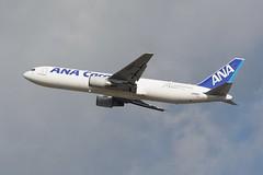 All Nippon Airways, Boeing 767-300F, JA602F, NRT (masak2_ukon) Tags: narita 成田 airplanes