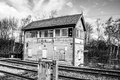 Signal Boxes (Eloise 17) Tags: signalman signalbox reportagephotography railways railwaylines networkrail socialhistory