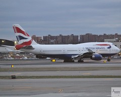 British Airways B747-436 G-CIVW taxiing at JFK/KJFK (AviationEagle32) Tags: newyorkjfk newyork newyorkjfkairport newyorkjohnfkennedy newyorkjohnfkennedyairport johnfkennedyairport johnfkennedy jfk jfkairport kjfk unitedstates unitedstatesofamerica america usa airport aircraft airplanes apron aviation aeroplanes avp aviationphotography avgeek aviationlovers aviationgeek aeroplane airplane planespotting planes plane flying flickraviation flight vehicle tarmac britishairways speedbird oneworld boeing boeing747 747 b747 b747400 b747436 b744 jumbojet gcivw