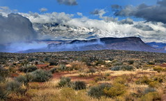 Pine Valley Mountains, west of Zion National Park, Utah (klauslang99) Tags: klauslang nature naturalworld northamerica pine valley mountains utah zion desert clouds landscape