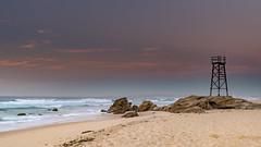 Coastal Sunrise Seascape (Merrillie) Tags: redheadbeach sunrise newcastle dawn newsouthwales sea nsw beach ocean lakemacquarie rocks sharktower coastal redhead outdoors seascape landscape coast australia seaside