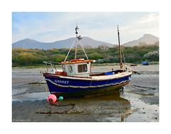 We sail at dawn. 19 (Phoenix Knight.) Tags: robindemel fishingboat beachlife northwales gannet gwynedd april6th2019 boats