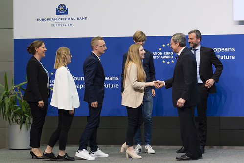 Generation €uro Students' Award - Q&A with Mario Draghi President of the ECB - 08 May 2019