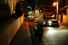 2008/1751 (june1777) Tags: snap street seoul night light bokeh sony a7ii kyocera contax carl zeiss g planar gplanar 45mm f2 10000 clear