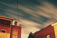 . (Ansel Olson) Tags: nikonf3 sky clouds kodak film portra richmond virginia