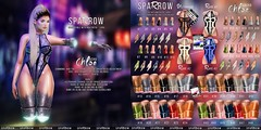 SPARROW // CYBER PUNK (mikleted) Tags: cyber punk new mesh maitreya sparrow