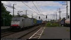 KRE 186 102, Emmerich - 03-05-2019 (Teun Lukassen) Tags: kre br186 traxx kombiraileurope maasvlakte neuss emmerich 41741 treinen trains züge