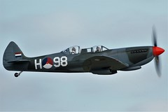 Spitfire T.9 G-CCCA as H-98 (Craig S Martin) Tags: vickers supermarine spitfire t9 gccca royal netherlands air force h98 spitfiret9 royalnetherlandsairforce aircraft airplane aviation warbird