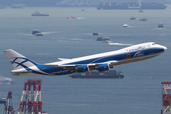 VQ-BLQ, Boeing 747-8F, AirBridge Cargo, Hong Kong (ColinParker777) Tags: boeing b747 b748 b748f 747 748 748f b7478f b7478 7478f 7478 jumbo cargo freighter airliner airplane plane aircraft aeroplane aviation fly flying flight airbridge air bridge airlines airways takeoff departure ru abw russian hkg vhhh hong kong chek lap kok international airport boats barge ship ocean sea harbour hk hksar canon 7d 7d2 7dmk2 7dmkii 7dii 200400 l lens zoom telephoto pro city building landscape water sky vqblq 37581 1448 7478hvf hapag lloyd
