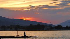 P1070230 (omirou56) Tags: 169ratio συννεφα δυσηηλιου ηλιοβασιλεμα θαλασσα ελλαδα πελοποννησοσ ουρανοσ σιλουετεσ sky sea sunset clouds silhouette hellas peloponnisos peloponisos peloponnese panasoniclumixdmctz40