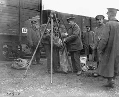 Potatoes being rationed to soldiers in the 1st Division of the Canadian Army Service Corps / Rations de pommes de terre distribuées aux soldats de la 1re Division du Corps de l'intendance de l'Armée canadienne (BiblioArchives / LibraryArchives) Tags: lac bac libraryandarchivescanada bibliothèqueetarchivescanada canada potato potatoes pommedeterre pommesdeterre soldiers soldats men hommes rations 1stdivision 1redivision canadianarmyservicecorps corpsdel'intendancedel'arméecanadienne henryedwardknobel july1916 juillet1916 departmentofnationaldefence ministèredeladéfensenationale