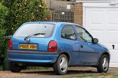 P805 VBH (Nivek.Old.Gold) Tags: 1997 vauxhall corsa 10 12v sting 3door
