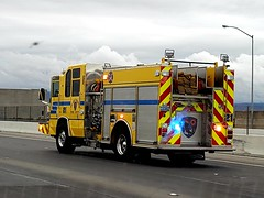 Clark County Fire, engine 21 (Summerlin540) Tags: 999 911 112 lasvegas nevada ccfd led code3 rescue