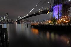 River Cafe (csnyder103) Tags: brooklynbridge brooklyn rivercafe newyorkcity ny water longexposure canoneosm5 canonefm1122