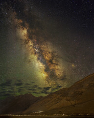 Milkyway over the Himalayan range (vaidyarupal) Tags: milkyway astro astrophotography astronomy night nightphotography nightsky nightscapes galaxy galacticcore galaxies nebula nebulae earth core dramaticsky spiti spitivalley india rupalvaidya vaidyarupal