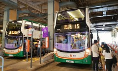 Peak services 15 & 15B (Longreach - Jonathan McDonnell) Tags: nwfb newworldfirstbus 15 15b victoriapeak adl adlenviro400 uz6973 3853