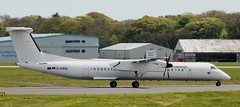DHC-8: D-ABQL DHC-8Q 402 Eurowings Newcastle Airport (emdjt42) Tags: dabql dhc8 eurowings newcastleairport