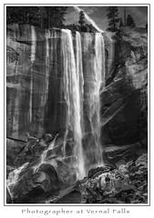 The Photographer (Michael Besant) Tags: yosemitenationalpark monochrome monochromatic bw byrnemeadowphotography michaelbesant waterfall vernalfalls