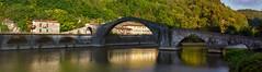 Ponte della Maddalena (La leggenda del ponte del Diavolo) - The legend of the Devil's bridge (Eugenio GV Costa) Tags: ponte lucca maddalena diavolo aqcqua fiume borgoamozzano serchio leggenda bridge devil water river legend