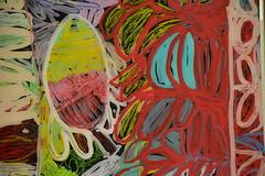 Daisy Japulija, Sonia Kurrara, Ms Uhl, Tjigila Nada Rawlins, works on perspex (Dietmar Down Under) Tags: the national new australian art contemporary mca sydney australia