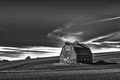 Relics of the Palouse XV (PNW-Photography) Tags: palouse uniontown washington old historic country rural field farming farm barn